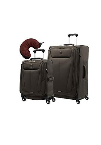 "Travelpro Maxlite 5 | 3-PC Set | Int'l Carry-On & 29"" Exp. Spinners with Travel Pillow (Mocha)"