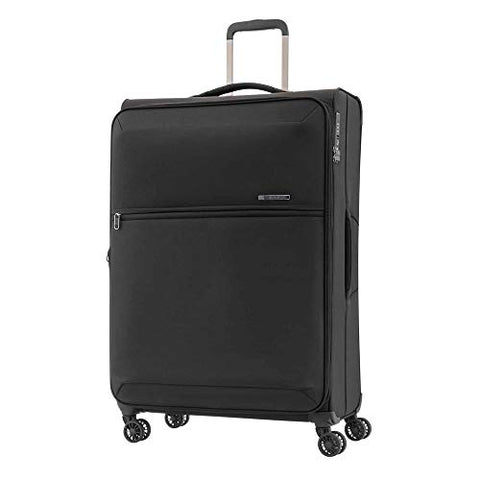 Samsonite 72H DLX Spinner Carry-On Luggage Large Black Travel Bag