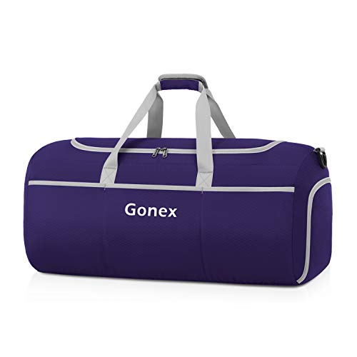 Gonex 70L Packable Travel Duffle, Lightweight Luggage Duffel Sports Gym Bag with Shoe Compartment