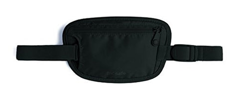 Pacsafe Luggage Coversafe 25 Waist Wallet, Black