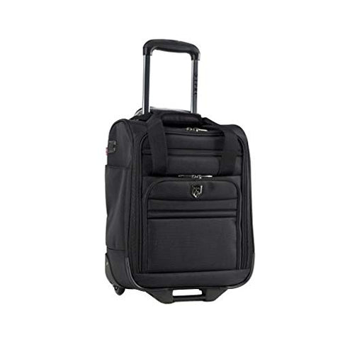 "TPRC WM-29717-001 Travelers Club 17"" Under Seater W/USB Port, Black"