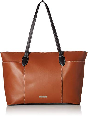 London Fog Kensington Tote-Cognac,