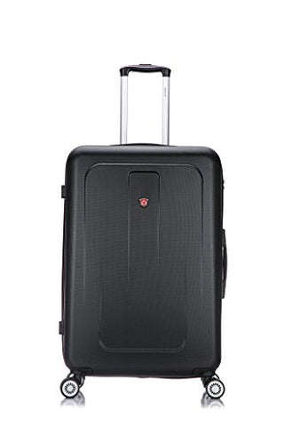 Dukap Luggage Crypto Lightweight Hardside Spinner 28'' Inches Black