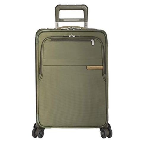 "Briggs & Riley Baseline Domestic Expandable Carry-On 22"" Spinner, Olive"