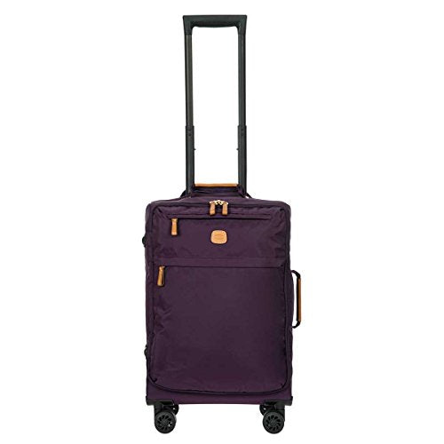 Bric's X-Bag/x-Travel 2.0 Ultralight 21 inch International Carry on Spinner with Frame, Violet