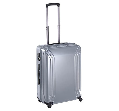 Zero Halliburton Air Ii 22 Inch Carry-On 4 Wheel Spinner Travel Case, Gray, One Size