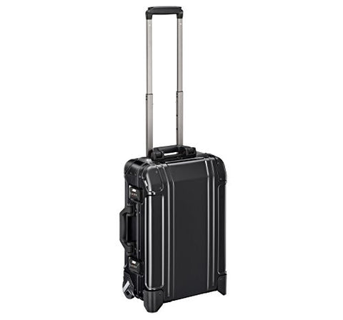 Zero Halliburton Geo Aluminum 3.0 Carry-on 2 Wheel Travel Case ZRG2520 (BLACK)
