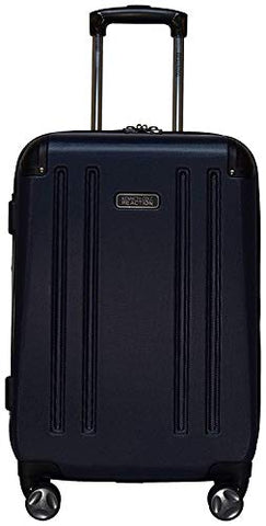 "Kenneth Cole Reaction 8 Wheelin Expandable Luggage Spinner Suitcase Medium 25"" (Navy)"