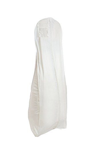 Bags For Less Brand New X Large White Bridal Wedding Gown Dress Garment Bag By