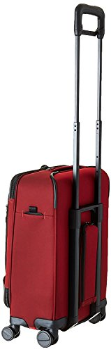 Briggs & Riley Transcend Domestic Carry-On Spinner, Crimson, One Size