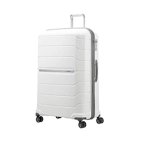 Samsonite Octolite Spinner Carry-On Luggage Large White Suitcase