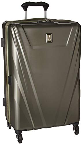 Travelpro Maxlite 5 25-Inch Expandable Hardside Spinner Luggage, Slate Green
