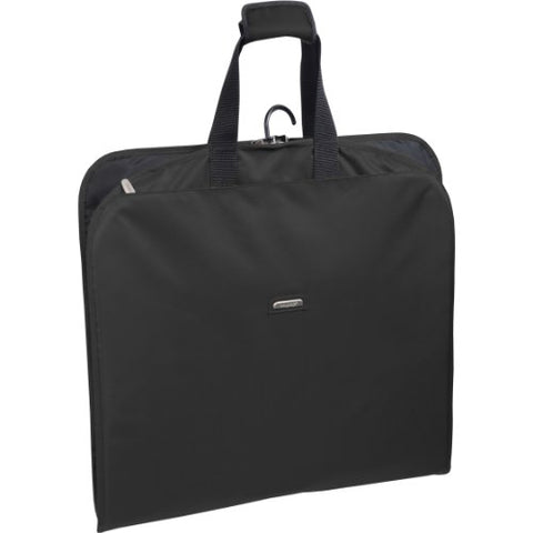 Wallybags 45-Inch Suit Length, Carry-On, Slim Garment Bag With Multiple Pockets