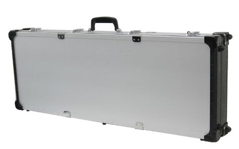 T.Z. Case International TZM0043 SD 43 1/2 x 16 x 5-Inch Tactical Rifle Case with Wheels, Silver Dot Finish