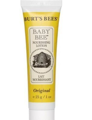Burts Bees Baby Bee Nourishing Lotion 1 Ounce Travel Size - 4 Pk