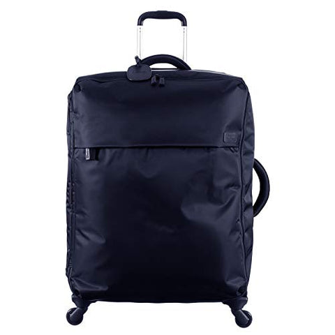 Lipault - Original Plume Spinner 72/26 Luggage - Large Suitcase Rolling Bag For Women - Navy