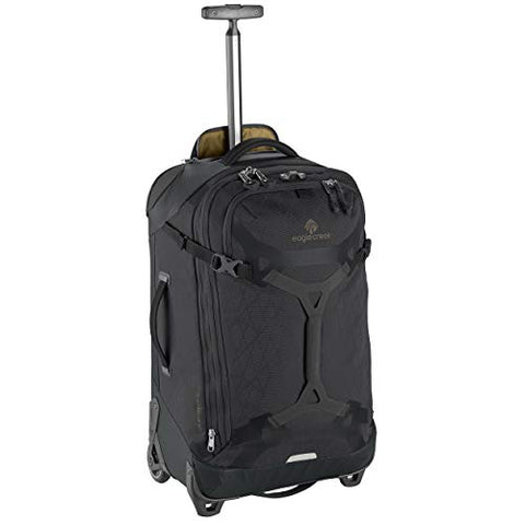 Eagle Creek Gear Warrior 2-Wheel Rolling Duffel Bag, 26-Inch, Jet Black