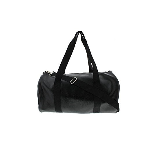 Buffalo David Bitton Faux Leather Solid Duffle Bag (Black, One Size)
