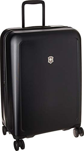 Victorinox Connex Medium Hardside Checked Spinner Luggage (Black)