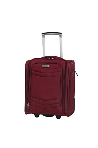 "it luggage Intrepid 16.9"" 2 Wheel Carry-On, Dark Red"