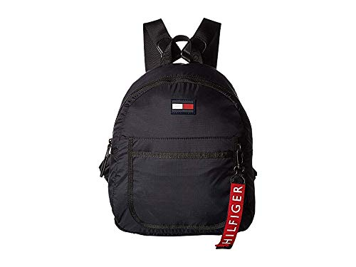Tommy Hilfiger Women's Crewe Nylon Backpack Black One Size