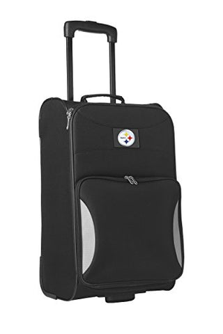 Nfl Pittsburgh Steelers Steadfast Upright Carry-On Luggage, 21-Inch, Black