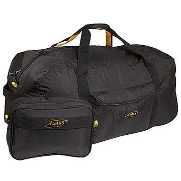 A. Saks 36 Inch Lightweight Folding Duffel (Black)