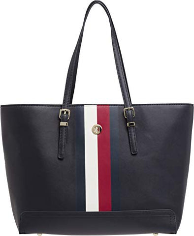 Tommy Hilfiger Honey Ew Tote Womens Shopper Bag One Size Corporate