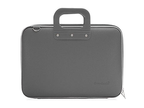 Bombata Medio Briefcase 13-Inch (Charcoal)
