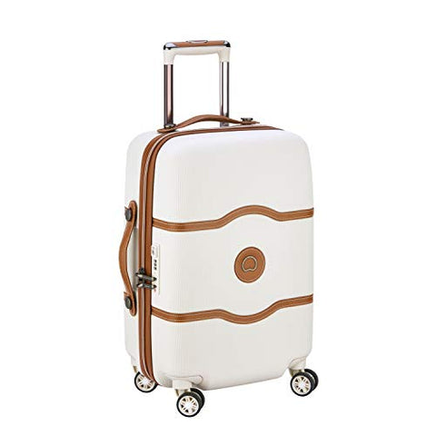 DELSEY PARIS CHATELET AIR Hand Luggage, 55 cm, 39 liters, White (Angora)