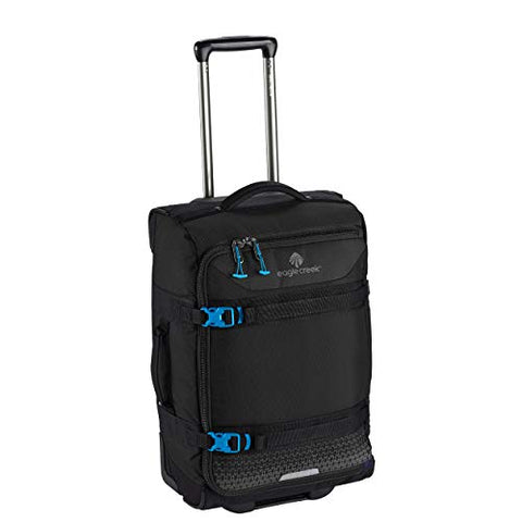 Eagle Creek Expanse Wheeled Duffel International Carry On Rolling, Black, One Size