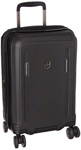 Victorinox Werks Traveler 6.0 Frequent Flyer Hardside Carry-on, Black