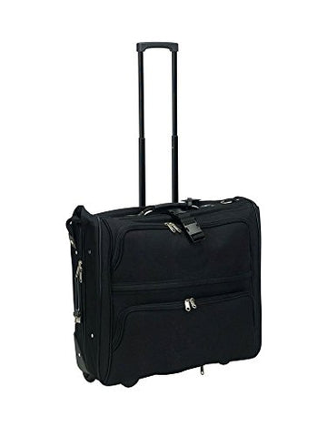 Travel Well Goodhope 7643 Rolling Garment Bag Suitcase