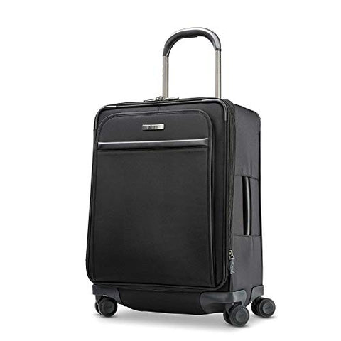 Hartmann Metropolitan 2 Domestic Expandable Spinner Carry-On Luggage, Deep Black