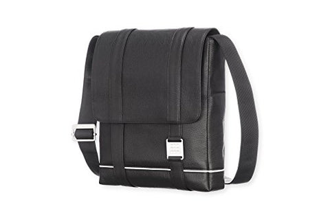 Moleskine Lineage Reporter Bag, Leather, Black