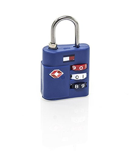 Tommy Hilfiger TSA Combination Lock, Blue