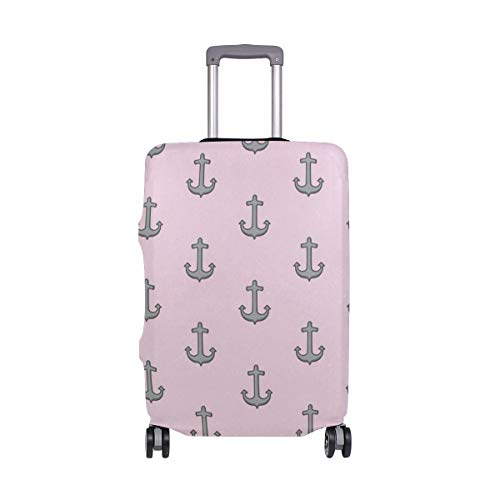 Luggage Cover Suitcase Anchor Ocean Pattern Luggage Cover Travel Case Bag Protector for Kid Girls