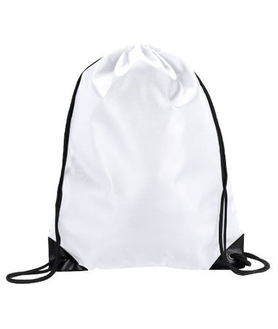 Ultra Club 8886 ® Value Drawstring Pack - One - White