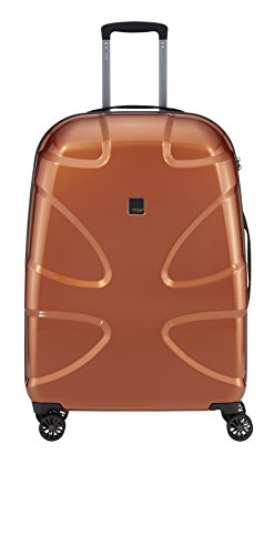 "Titan X2 Hard Luggage Large 28"" Stylish Spinner (Copper)"