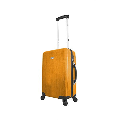 Viaggi Murano Hardside Spinner Carry-On, Orange, One Size