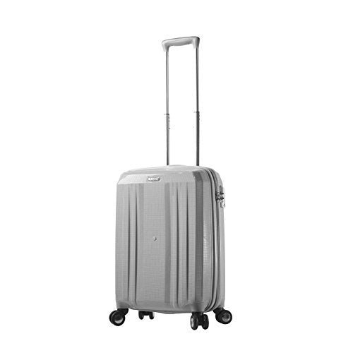 "Mia Toro M1227-20In-Wht Italy Duraturo Hardside Spinner 20"" Carry-On, White"
