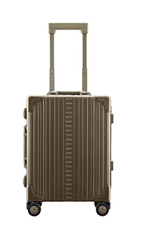 "Aleon 19"" International Carry-On Aluminum Hardside Luggage Bronze"