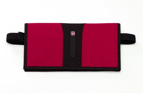 Swiss Gear Luggage Wenger Trim-Line Travel Waist Wallet, Red, Small