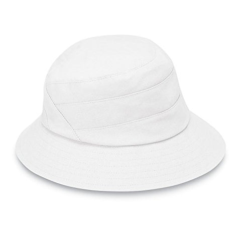 Taylor By Wallaroo Hat Company - Packable Bucket Hat - White