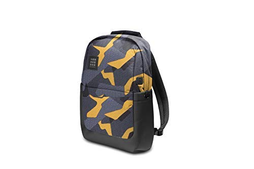 Moleskine ID Go Backpack, Camo Black Yellow