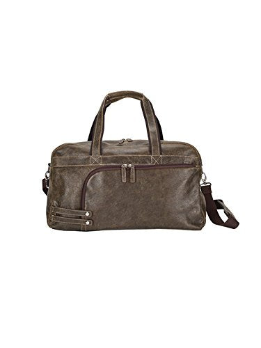 GOODHOPE Bags The Icon Leather Duffel, Brown