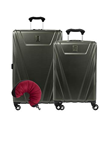 Travelpro Maxlite 5 Hardside 3-Pc Set: Carry-On And 29-Inch Spinner With Travel Pillow (Slate