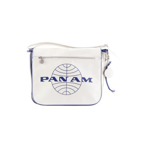 Pan Am Men'S Messenger Reloaded-2, Vintage White, Large