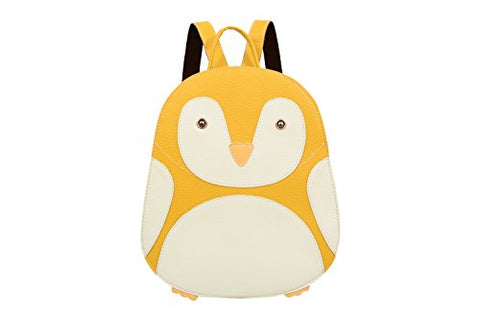 Mellow World Penguin Backpack, Mustard
