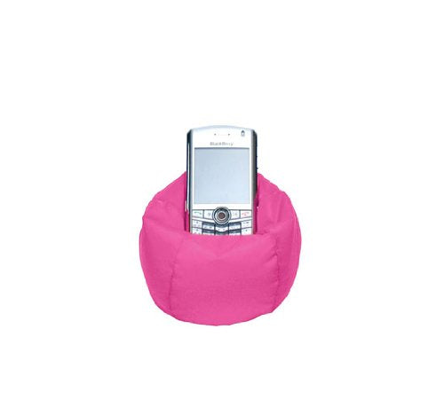 Lug Beanie Chair Cell/Ipod Holder, Rose Pink